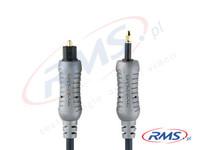Kabel jack optyczny - TOSLINK Bandridge AL580 - 1m