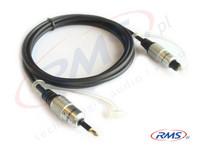 Kabel jack optyczny - TOSLINK - Digital (D-JT05) HQ - 0,5m