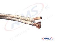Przewód głośnikowy 2x 2,5mm2 - miedź 99,9 % czystości