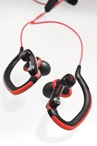 Audio-Technica ATH-CKP200 (ATHCKP200) Słuchawki dokanałowe sportowe, wodoodporne