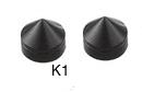 Kolce głośnikowe Acoustique Quality AQ K1, czarne - 1 szt
