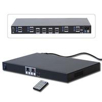 Rozdzielacz, switch HDMI (8xIN-8xOUT) Matrix 1080p Lindy 38047