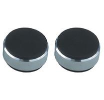 Podstawki tłumiące gumowe Acoustique Quality AQ N4 B - czarne - 1 szt