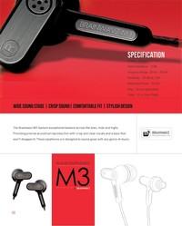 Brainwavz M3 Słuchawki dokanałowe