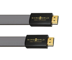 Wireworld Silver Starlight 7 Kabel cyfrowy HDMI - HDMI 1.4 płaski cat2 kanał ethernet, 3D - 0,3m