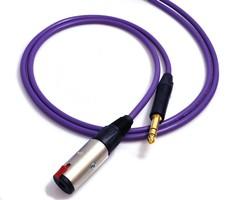 Melodika MDPJ30 Przedłużacz duży jack stereo 6,3mm wtyk-gniazdo (do słuchawek) - 3m