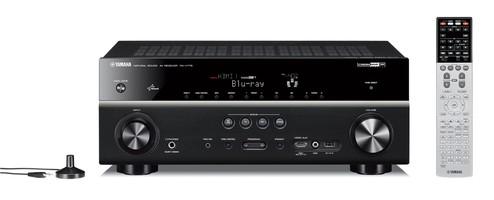 Yamaha RX-V775 (RXV775) Amplituner (7.2) kina domowego 4K Ultra HD z 3D i funkcjami sieciowymi