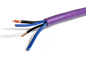 Melodika MDC2415 Purple Rain Przewód głośnikowy bi-wirring OFC klasy 4N 2x4mm2+2x1,5mm2 z żyłą BassCore