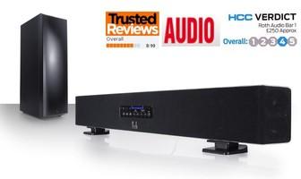 Zestaw kolumn kina domowego 2.1 Roth Audio Sound Bar 1 (SoundBar1)