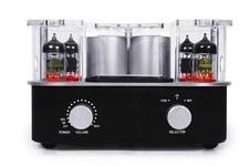 Roth Audio Music Cocoon MC 4 (MC4) Wzmacniacz stereo lampowy (z stacją iPhone, iPod) POWYSTAWOWY lekko uszkodzony