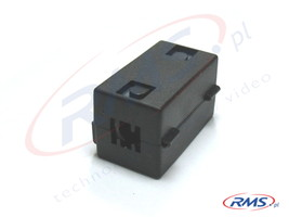 Filtr (tłumik) ferrytowy na przewód o grubości do 6,5mm