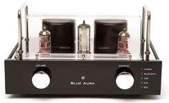 Blue Aura V40 (V-40) Wzmacniacz lampowo-tranzystorowy (hybrydowy) stereo z przetwornikiem cyfrowo-analogowym DAC i Bluetooth