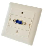 Melodika MDG1V naścienne przyłącze gniazdo VGA (D-sub) (PL standard)