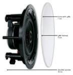 ArtSound FL401 (FL 401) Głośnik ścienny/sufitowy do zabudowy (biały) - 2szt.