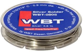 WBT-0805 Cyna (spoiwo lutownicze) bezołowiowa 4% srebra - 10m