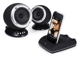Roth Charlie 2.0 Głośniki (kolumny) stereo z bezprzewodową stacją dokującą do iPod-a, iPhone-a