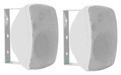 ArtSound ASW55.2 (ASW 55.2 W/B) Głośniki zewnętrzne odporne na promienie UV, wodoodporne (czarny, biały) - 2szt.