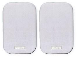 ArtSound AS30 (AS30 w b s) Głośnik ścienny/sufitowy do podwieszenia (czarny, biały, srebrny) - 2szt.
