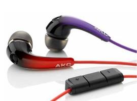 AKG K 328 (K328) Słuchawki przewodowe dokanałowe do iPod, iPhone, iPad