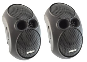 ArtSound E3 (E-3) Głośnik ścienny/sufitowy do podwieszenia (czarny, biały) - 2 szt