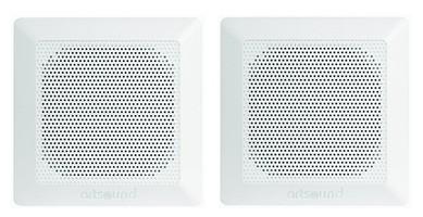 ArtSound DC84 (DC 84) Głośnik ścienny/sufitowy do zabudowy, wodoodporny (biały) - 2szt.