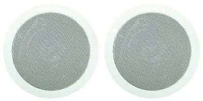 ArtSound MD50 (MD-50) Głośnik ścienny/sufitowy do zabudowy (szary, biały) - 2szt.