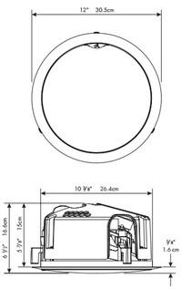 Martin Logan Helos 100 (Helos100) Głośnik kierunkowy ścienny/sufitowy do zabudowy - 2szt.