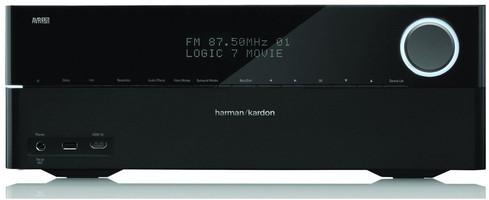 Harman Kardon AVR-370 (AVR370) Amplituner wielokanałowy (7.2) HDMI 1.4 3D