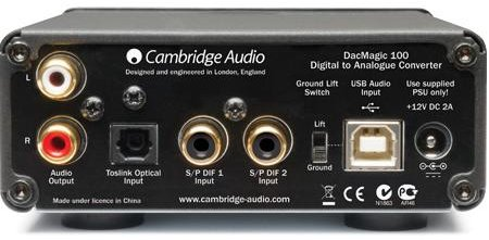 Cambridge audio dacmagic usb