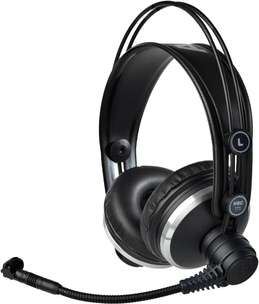 AKG HSC 171 (HSC171) Słuchawki profesjonalne z mikrofonem Polska Gwarancja