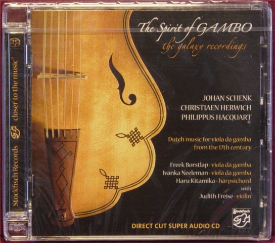 Płyta DC-SACD The Spirit of GAMBO - The galaxy Recordings Polska Gwarancja