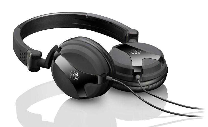 AKG K 518 DJ (K518DJ) Słuchawki składane dla DJ lub do domu Kolor: Czarny Polska Gwarancja