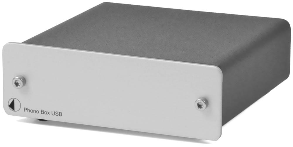 Pro-Ject Phono BOX USB (PhonoBOXUSB) Przedwzmacniacz gramofonowy MM / MC z wyjściem USB Kolor: Ciemny Polska Gwarancja