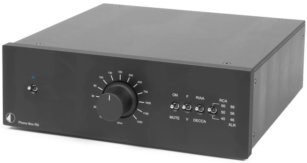 Pro-Ject Phono BOX RS (PhonoBOXRS) Przedwzmacniacz gramofonowy MM / MC Kolor: Ciemny Polska Gwarancja