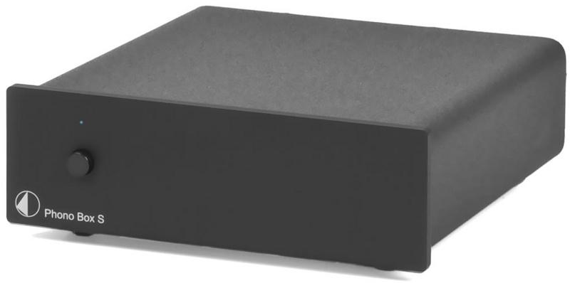 Pro-Ject Phono BOX S (PhonoBOXS) Przedwzmacniacz gramofonowy MM / MC Kolor: Ciemny Polska Gwarancja