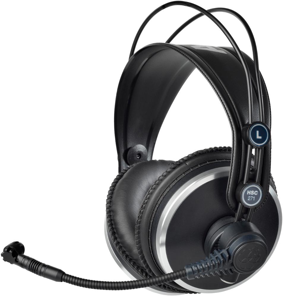 AKG HSC 271 (HSC271) Słuchawki profesjonalne z mikrofonem Polska Gwarancja