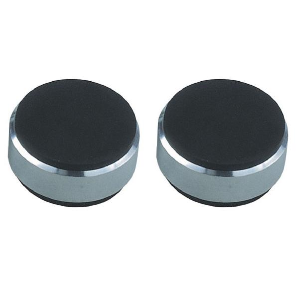 Podstawki tłumiące gumowe Acoustique Quality AQ N4 B - czarne - 2 szt Polska Gwarancja