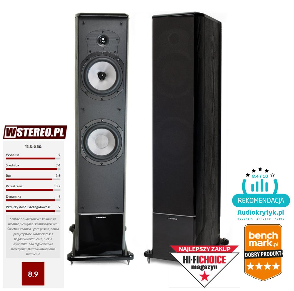 Melodika BL40 MKII (MK2 nowa wersja) kolumny podłogowe stereo - 2szt. Polska Gwarancja