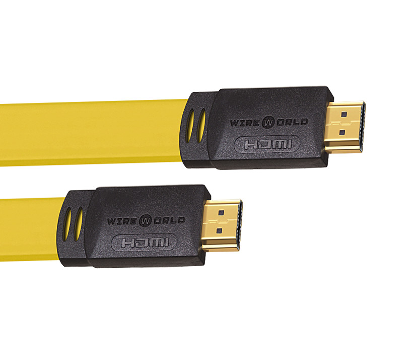 Wireworld Chroma 7 Kabel HDMI - HDMI 1.4 płaski Cat2 Ethernet, 3D - 9m Polska Gwarancja