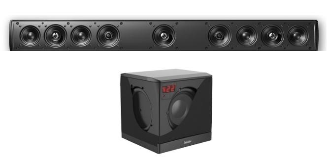 Definitive Technology Mythos SSA42 system Pasywny soundbar z aktywnym subwoferem Super Cube 4000 Polska Gwarancja