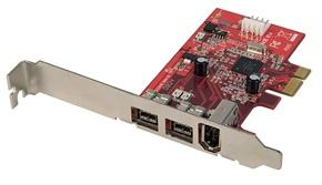 Lindy 51182 Karta Firewire Na Pci 3 2 X Firewire 800 9pin 1 X
