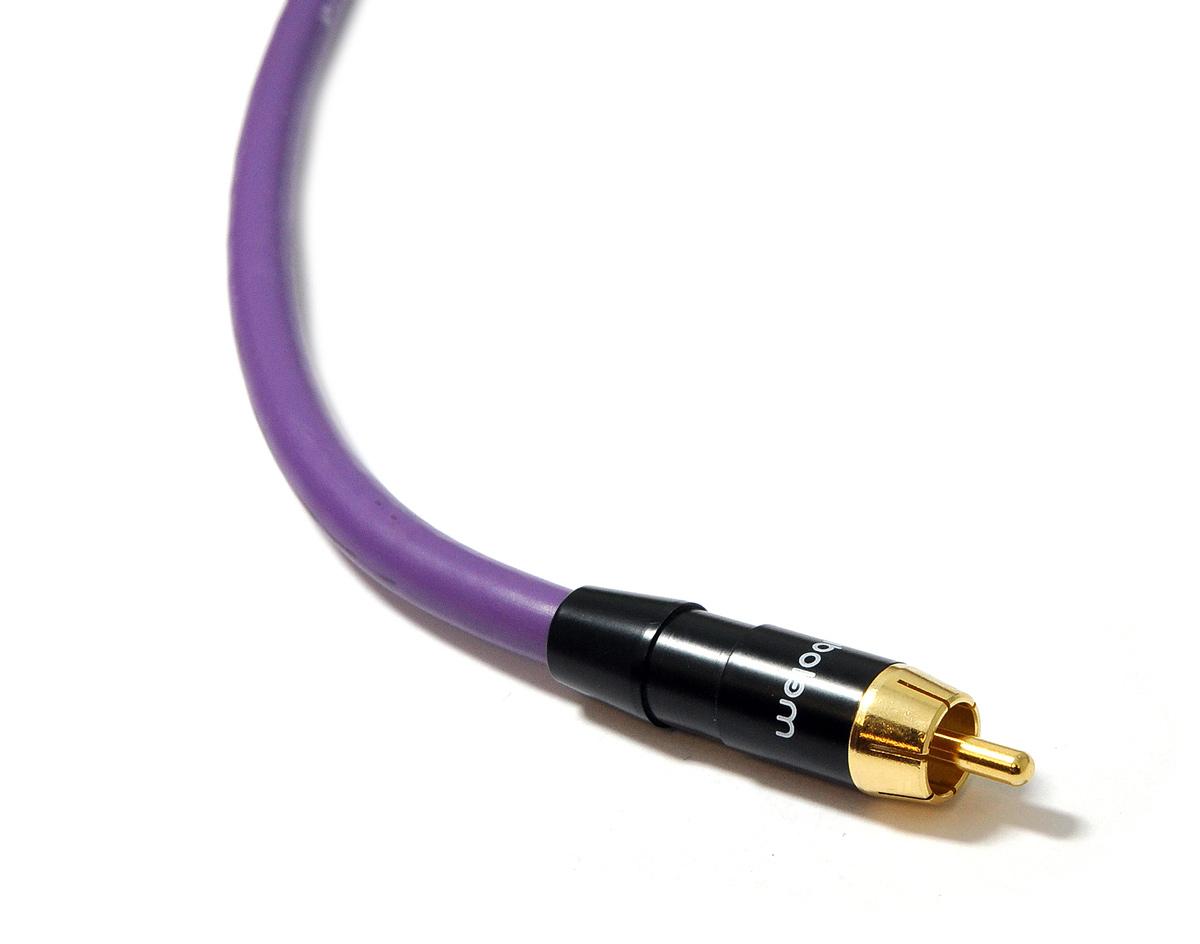 Melodika MDSW60 Kabel do subwoofera (RCA-RCA) Purple Rain - 6m Polska Gwarancja