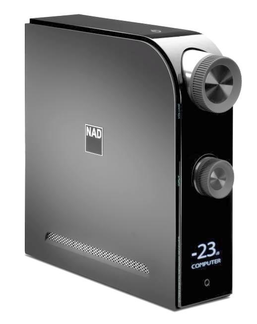 NAD D7050 (D-7050)  Wzmacniacz stereo cyfrowy z USB DAC i streamingiem sieciowym Kolor: Ciemny Polska Gwarancja