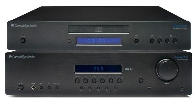 Zestaw stereo Cambridge Audio amplituner SR10 + odtwarzacz CD CD10 Polska Gwarancja