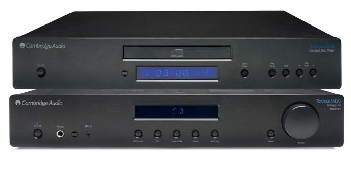Zestaw stereo Cambridge Audio wzmacniacz AM10 + odtwarzacz CD CD10 Polska Gwarancja
