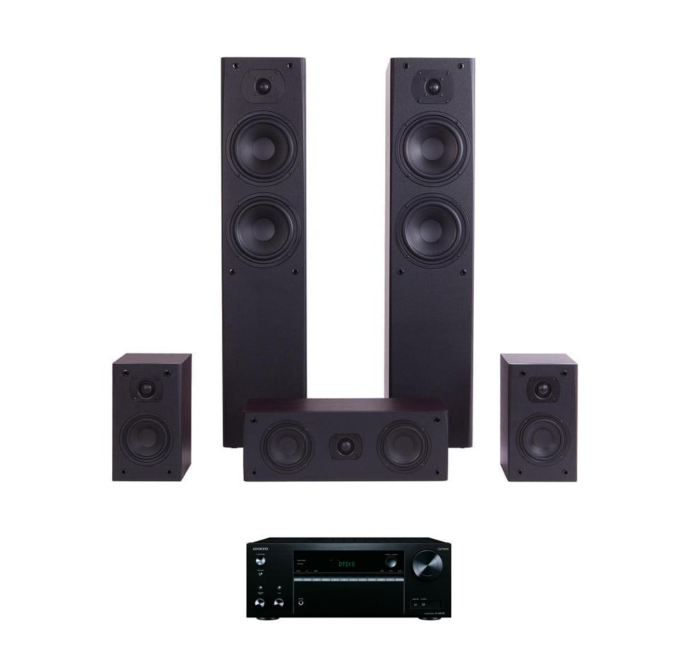 Zestaw kina domowego Pioneer VSX-323 + kolumny M-Audio HCS-9920 5.0 Polska Gwarancja