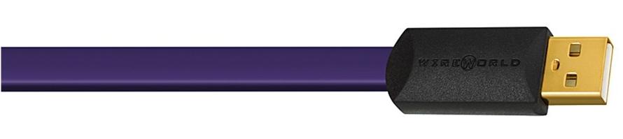 Wireworld Ultraviolet 7 (USB) Kabel USB A-B - 0,3m Polska Gwarancja
