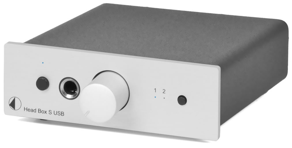 Pro-Ject HEAD BOX S USB (HEADBOXSUSB) Wzmacniacz słuchawkowy Kolor: Jasny Polska Gwarancja