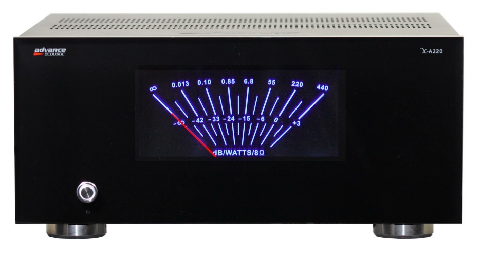 Advance Acoustic X-A220 (XA220) Końcówka mocy mono 220W Polska Gwarancja