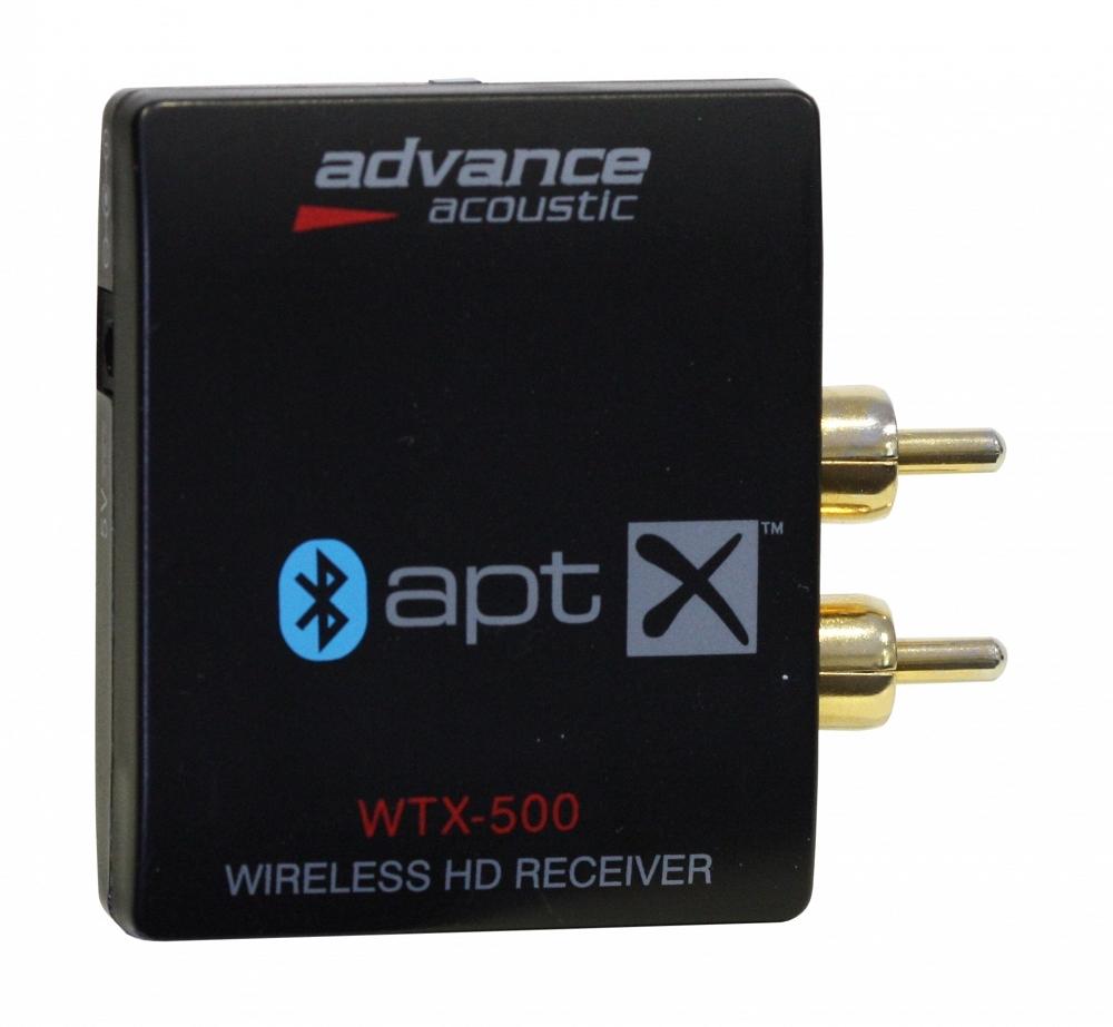 Advance Acoustic WTX-500 (WTX 500) Bezprzewodowy (Bluetooth) odbiornik audio do iPhone/iPod Polska Gwarancja